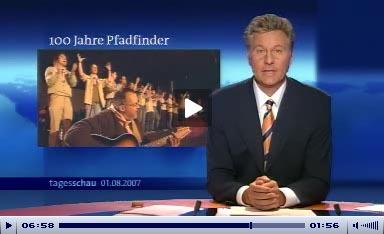Tagesschau, ARD 1.8.2007